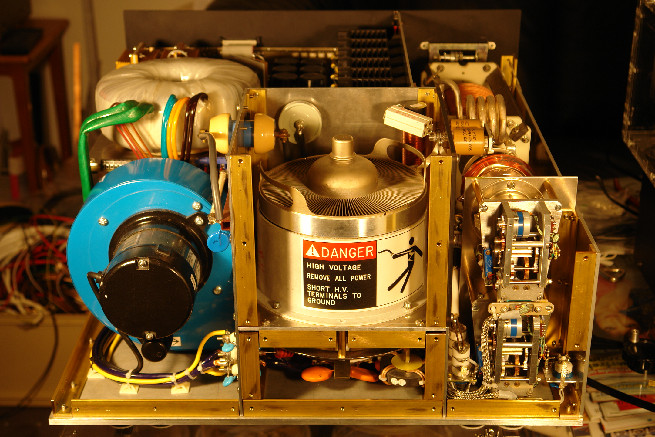 Dc9dz Project Tsunami Power Amplifier Pa Using 4cx10000d
